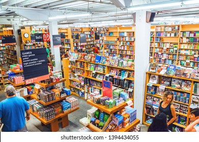 Powell City Of Books, Portland, Oregon, USA, September 6, 2018