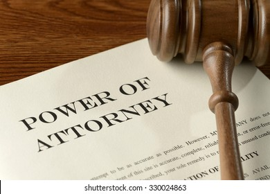 Power of Attorney - legal document