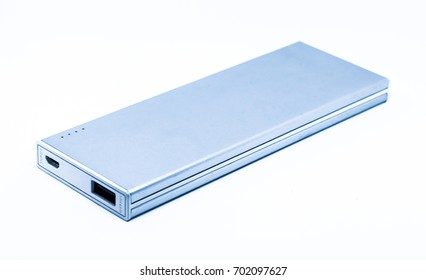 Power bank /Battery bank isolated on white background