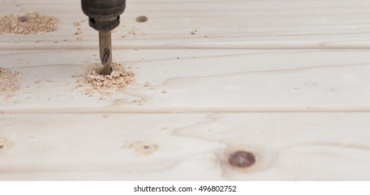 Power Drill Up Close (Shallow Depth of Field)