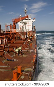 Power and gas industry - crude oil tanker