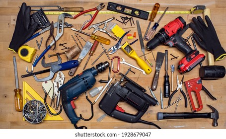 Power and Hand Tools Miscellaneous for Puzzle Template
