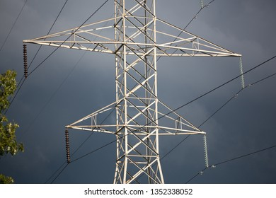 Power Industry Electrical Grid Transmission Lines Tower Supply Electricity