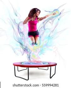 Power jump fitness