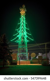 Power Line Christmas Tree