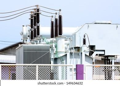 Power Line and Insulator