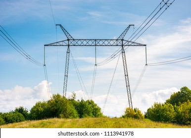 Electrical Tower Landscape Stock Photo (Edit Now) 145715570