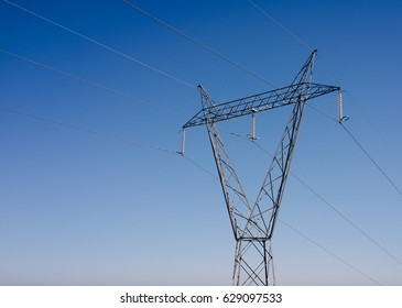 Power Lines Transmission Tower