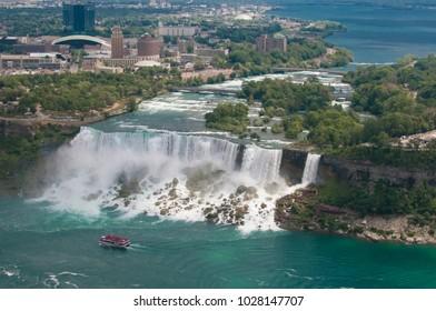 The power of nature in Niagara Falls