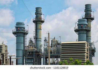 power plant close up