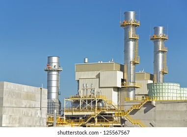 Power plant facility located in Majorca (Spain) to produce electricity