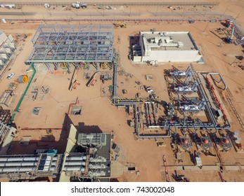 Power Plant Fuel Gas Compressor and Supply Yard Construction