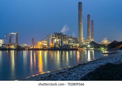 Power plant in Hong Kong