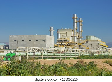 Power plant located in Majorca (Spain)
