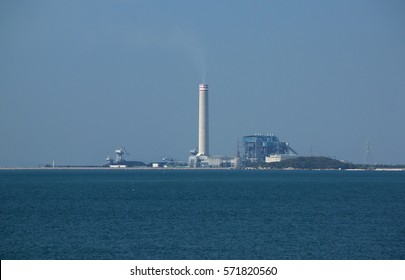 Power plant on the Sea