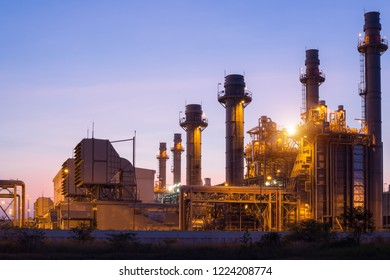 Power plant in the Petrochemical industry.