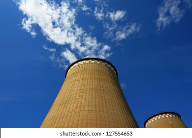 Power plant pipes