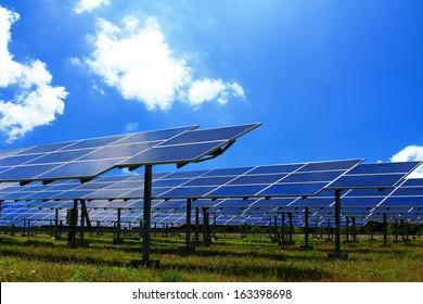 Power plant  solar energy