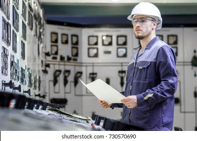power plant worker