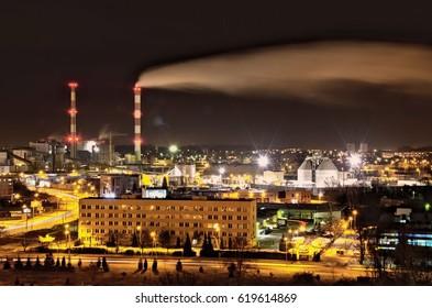 Power station in Bialystok, Poland - Shutterstock ID 619614869