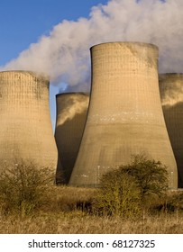 Power Station Cooling Towers, Ratcliffe-On-Soar, Nottinghamshire