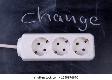 Power supplier Change multiple socket on board