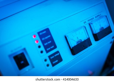 An Power supply in data center room .