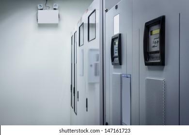 Power Supply of Data Center, Server Room.