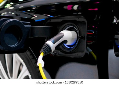 Power supply for electric car charging. Electric car charging station