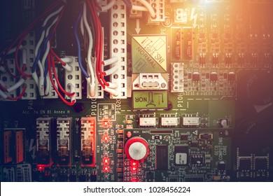 Power supply, elevator control circuit