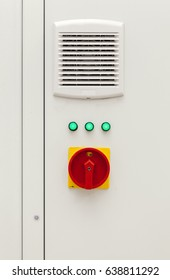 power switch with green signal light on board
