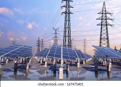 Power Tower and Photovoltaic solar