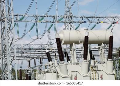 Power Transformer bushing.