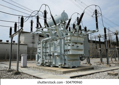 Power transformer in switchgear.