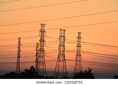Power transmission line tower  Transmission tower or power tower, Electricity  pylon or electric pylon is a tall structure, usually a steel lattice tower, used to support an overhead power line