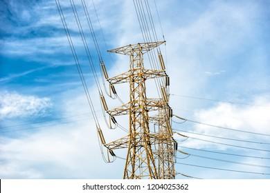 Power Transmission Pole
