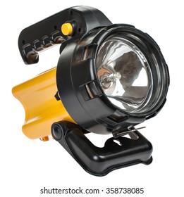 powerful battery flashlight