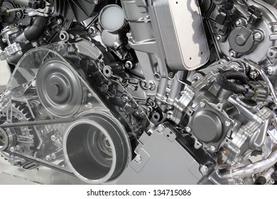 powerful car engine new technology