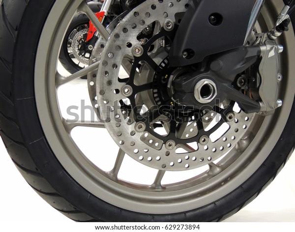 Powerhouse Motorcycle Brake Calipers Detailed Stock Stock