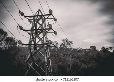 Powerlines - Cataract Gorge - Launceston, Tasmania, Australia