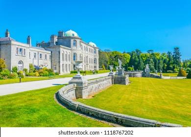 Powerscourt Estate in Ireland