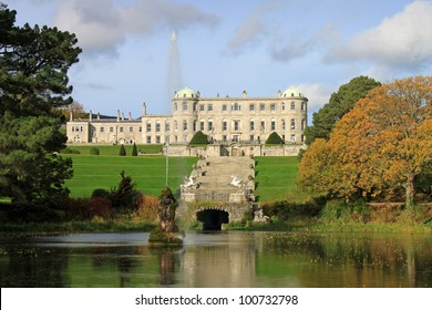 Powerscourt House is one of the most beautiful country estates in Ireland. Situated in the mountains of Wicklow.