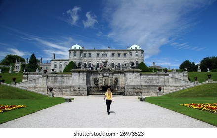 Powerscourt Manor and Gardens in County Wicklow, Ireland