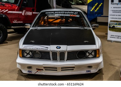 Poznan, Poland, April 06-09, 2017: MOTOR SHOW, International Car Fair: BMW Race Cup Car