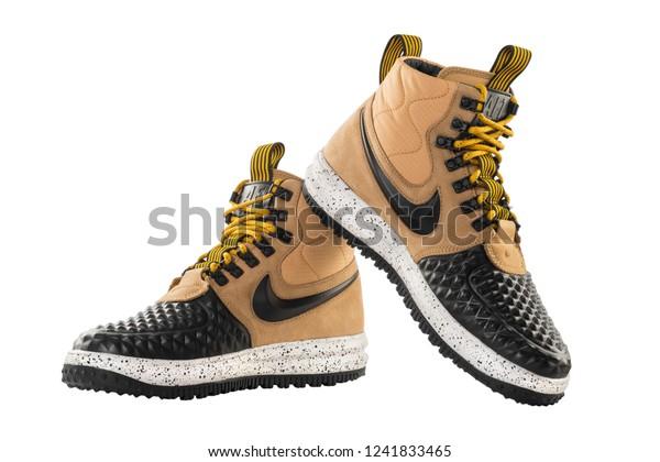 lowest price a2fb8 b431c Poznan Poland April 12 2018 Nike Stock Photo (Edit Now ...