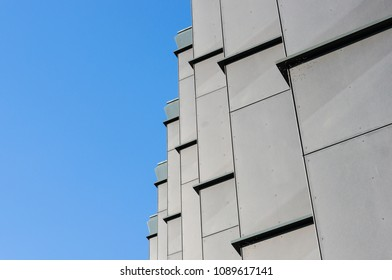 Poznan, Poland - April 20, 2018: Close up of a modern office building on the Malta district