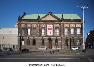 Poznan, Poland, April 30, 2018: National Museum in Poznan