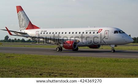 Poznan airport arrivals