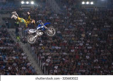 Stunt Bike Images, Stock Photos & Vectors | Shutterstock