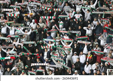 POZNAN, POLAND - MARCH 22: Ekstraklasa Match - KKS Lech Poznan vs Legia Warszawa at the Inea Stadium, March 22, 2015